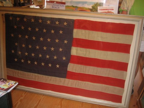 frame for flag